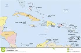 Caribbean Sea On Map by Map Of Caribbean Islands Spanish Pinterest Spanish