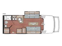 Type B Motorhome Floor Plans New Gulf Stream Rv Bt Cruiser 5230 Motor Home Class B For Sale