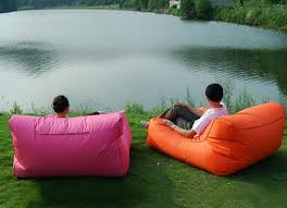 Bean Bag Sofa Bed by Floating Double Beanbag Sofa Bed Lounge