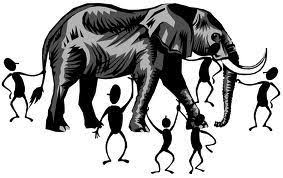 The Blind Men And The Elephant Some Problems With The Elephant And The Blind Men Example