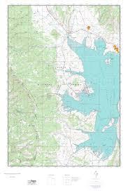 Utah Topo Maps by Mytopo Strawberry Reservoir Nw Utah Usgs Quad Topo Map