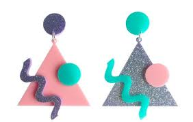 80s earrings 80 s vibe earrings yippywhippy