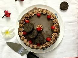ice cream cake recipe with chocolate mocha frosting by archana u0027s