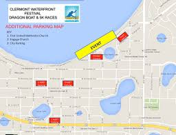 clermont fl map clermont waterfront festival boat and 5k race