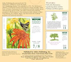 the old farmer u0027s almanac gardening 2017 boxed daily calendar