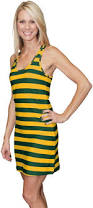 u0026 yellow game bib striped sundress