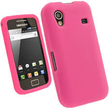 igadgitz silicone skin case cover for samsung galaxy ace