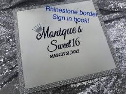 sweet 16 sign in book party signs and boards the party place li the party specialists