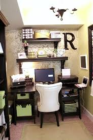 decor home office wallpapered office nook southern hospitality