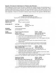 Resume Usa Format Usajobs Resume Sle 28 Images Hr Resume Sles Resume Format 2017