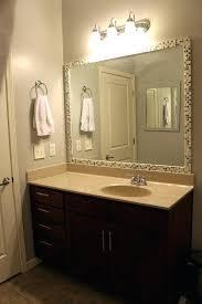 unique bathroom mirror frame ideasunique white frame for