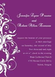 Purple Wedding Invitations Gorgeous Deep River Wedding Invitation Iwi129 Wedding