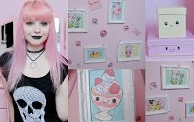 diy kawaii pastel goth room decor youtube