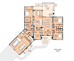 contemporary style house plan 4 beds 5 00 baths 3601 sq ft plan