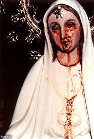imágenes religiosas que lloran sangre por qué las imágenes de las vírgenes lloran en todo el mundo
