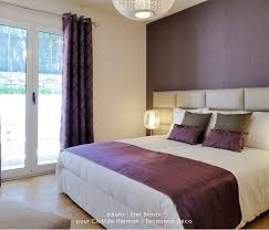 chambre prune stunning decoration chambre taupe et prune pictures design
