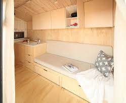 micro vacation hut on wheels is an affordable way to travel
