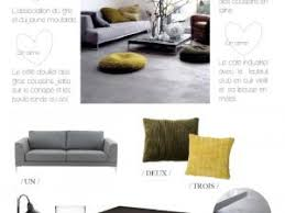 canapé ines fly get the look un salon douillet en gris et jaune par decocrush