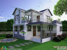 kerala home design 1600 sq feet beautiful modern home by sanju thomas kerala home design
