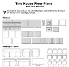 Make Your Own Floor Plan Print And Cut Samples To Make Your Own Tiny House Floor Plan