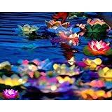 Floating Solar Pond Lights - pond lights amazon com