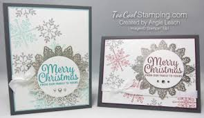 snowflake sentiments foil snowflake cards cool sting