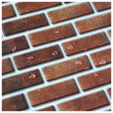 peel and stick wall tile in brick style for kitchen and bathroom 6 peel and stick wall tile in brick style