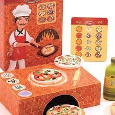 djeco cuisine djeco wooden luigi pizza set only 23 95