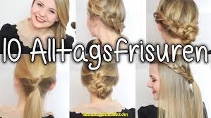 Frisuren F Mittellange Haare Mit Anleitung by Groß Schnelle Frisuren Für Lange Haare Anleitung Deltaclic