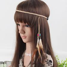 leather headband aliexpress buy aho022 12 women indian boho brown