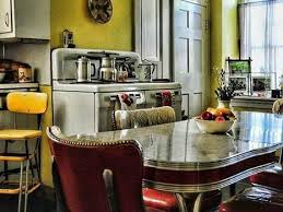 Diner Style Kitchen Table by 14 Best 1950s 60 Dining Settings Green Images On Pinterest