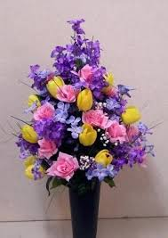 cemetery flower arrangements gorgeous cemetery flower vases barbcole info