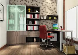 study room colors of bookcase and chair 3d house