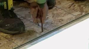 basement subfloor rigid foam