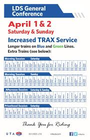 ride trax to lds general conference