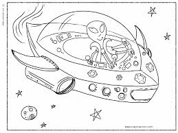 alien spaceship coloring pages for kids free spaceship coloring