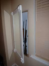 Plans For Gun Cabinet Wonderful In Wall Gun Cabinet Plans 95 In Wall Gun Safe Plans Gun