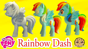 diy painting my little pony rainbow dash statue paint craft do it