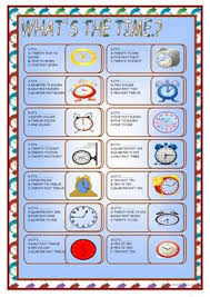 40 free esl telling the time worksheets