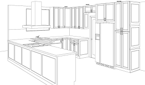 Superior Kitchen Cabinets by From Initial Design And Kitchen Sketch To Cabinet Installation We