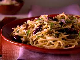 italian olives spaghetti with olives and bread crumbs recipe giada de