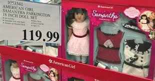 costco american samantha parkington 18 u2033 doll set w bonus