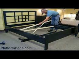 Assembling A Bed Frame American Bed Assembly