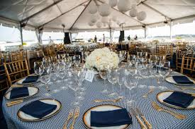 wedding trends gold flatware at reception table settings inside