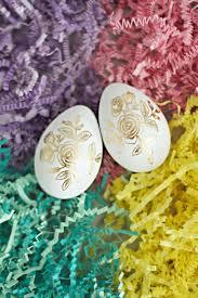 easter egg ideas gold foil tattoos diycandy com