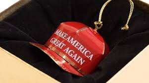 the make america great again ornament is getting the
