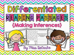 differentiated instruction for making inferences miss decarbo