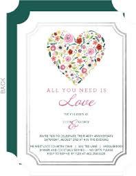 40th anniversary invitations ruby 40th wedding anniversary invitation 40th