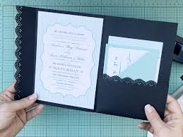 wedding invitation pockets how to hack an envelope into a pocket invitation