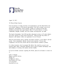 School No Letter Of Recommendation Testimonials And Letters Of Recommendation For 2013